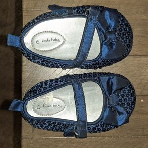 Baby size 3, 6-9 months Royal blue shoes